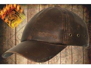 Kšiltovka kožená - OUTDOOR LEATHER CAP