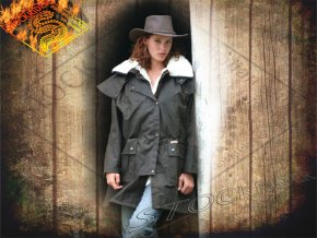 drover jacket brown