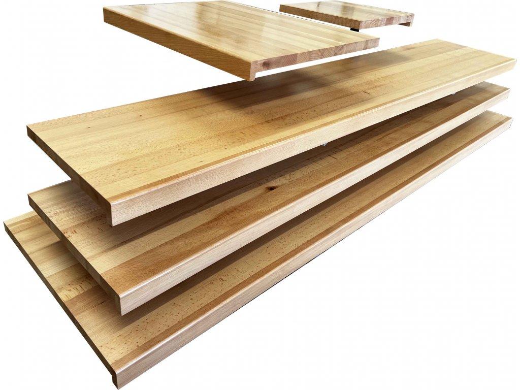 Dřevěný parapet - buk
