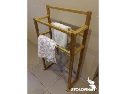 Stylový držák na ručníky