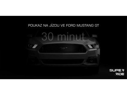 Poukaz na 30 minut jízdy ve Fordu Mustang GT 5.0 vč. PHM