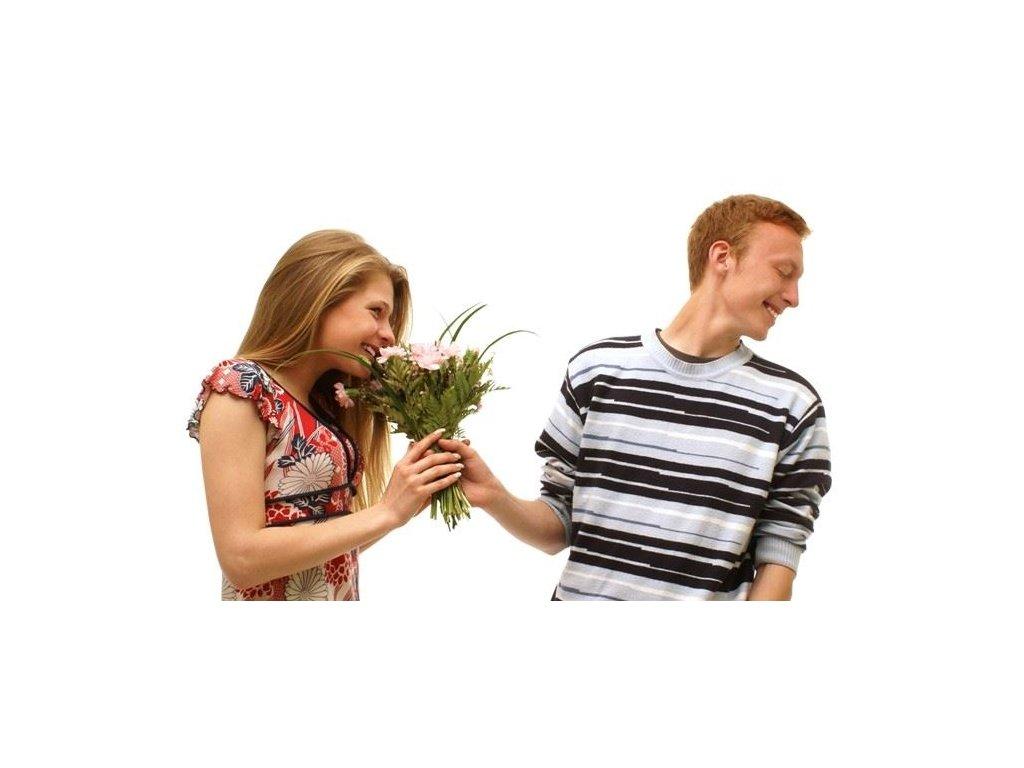 jak sbalit holku zenu kvetiny