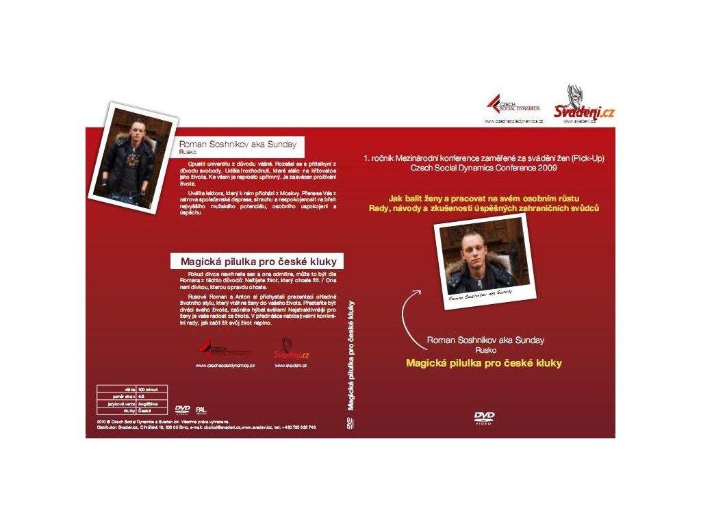 dvd magicka pilulka pro ceske kluky