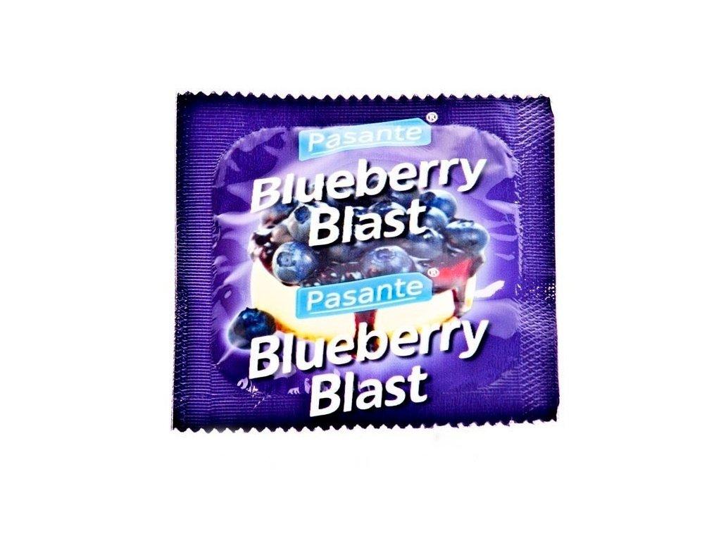 kondom pasante blueberry blast