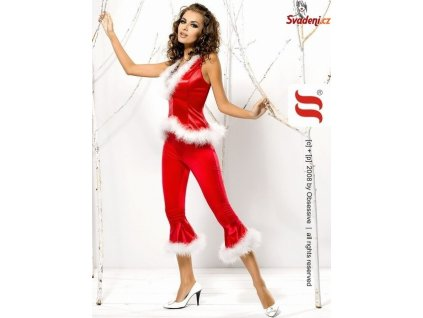 santa lady pants vest