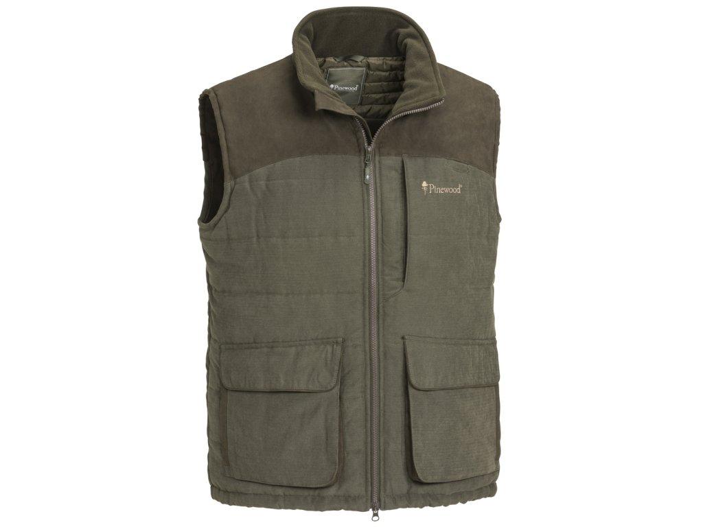 5883 241 01 pinewood vest abisko suede brown