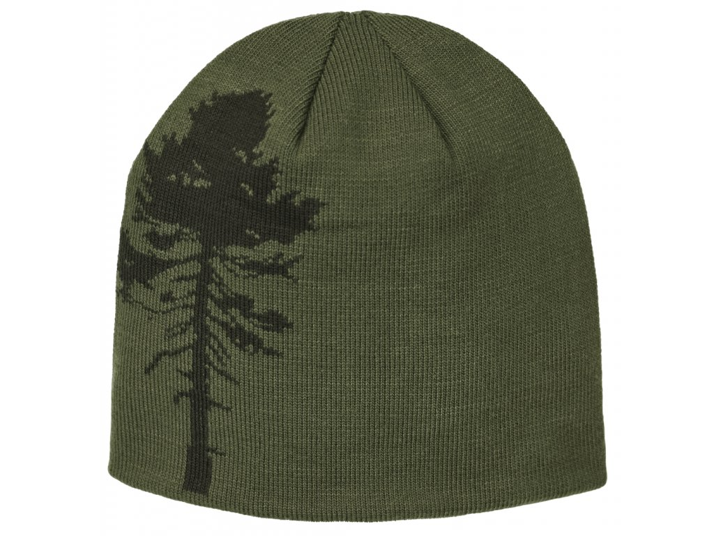9124 knitted hat tree green orange