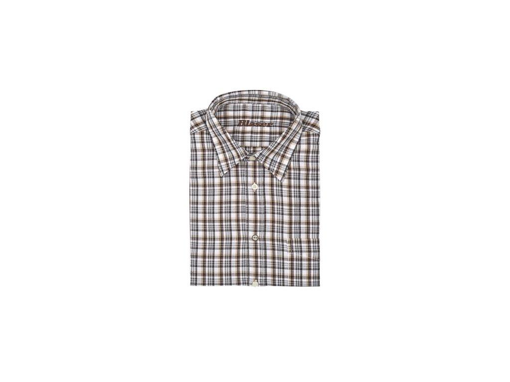 Boris popelínová košile (Velikost 4XL)
