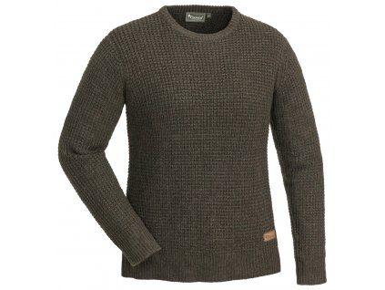 3548 207 01 pinewood womens knitted sweater brown melange