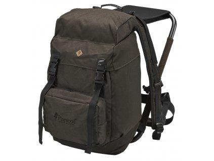 9613 suede brown hunting backpack 35 l