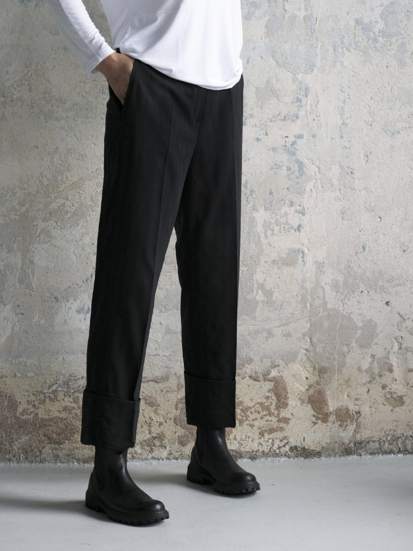 2646A Kalhoty široká manžeta