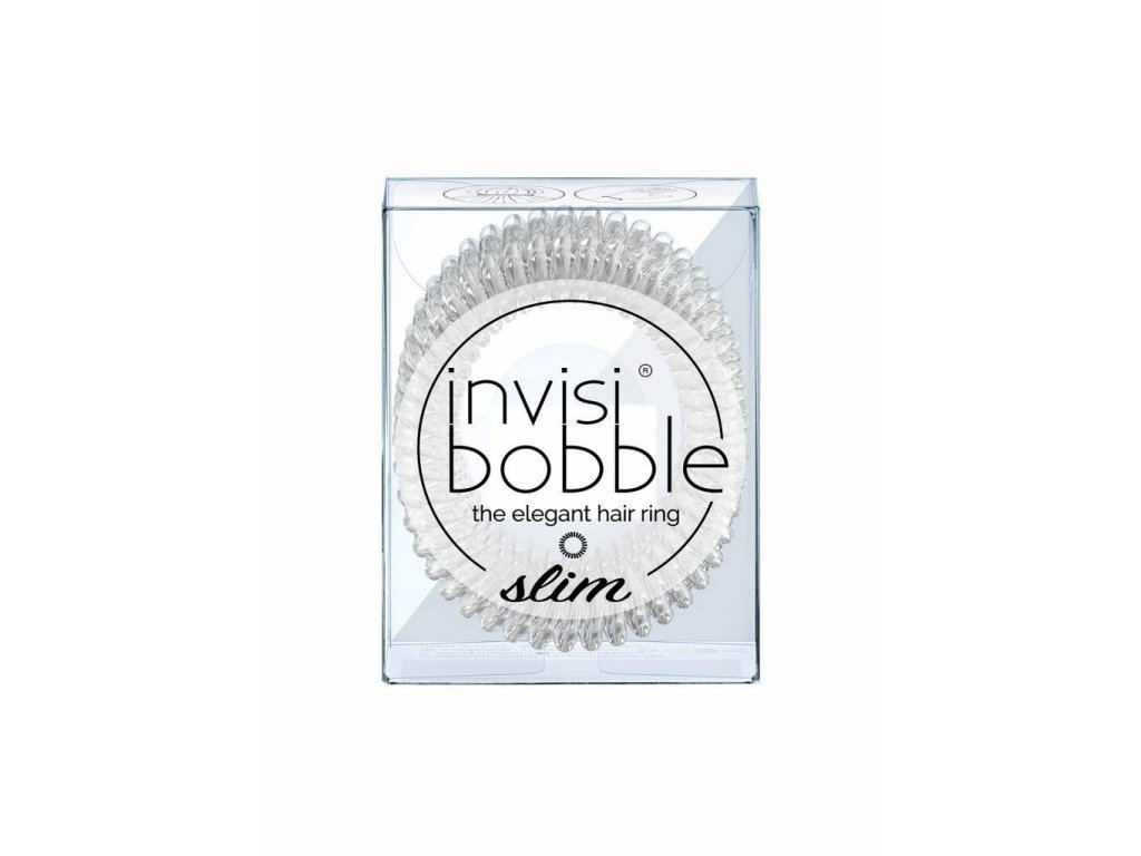 invisibobble® SLIM Crystal Clear