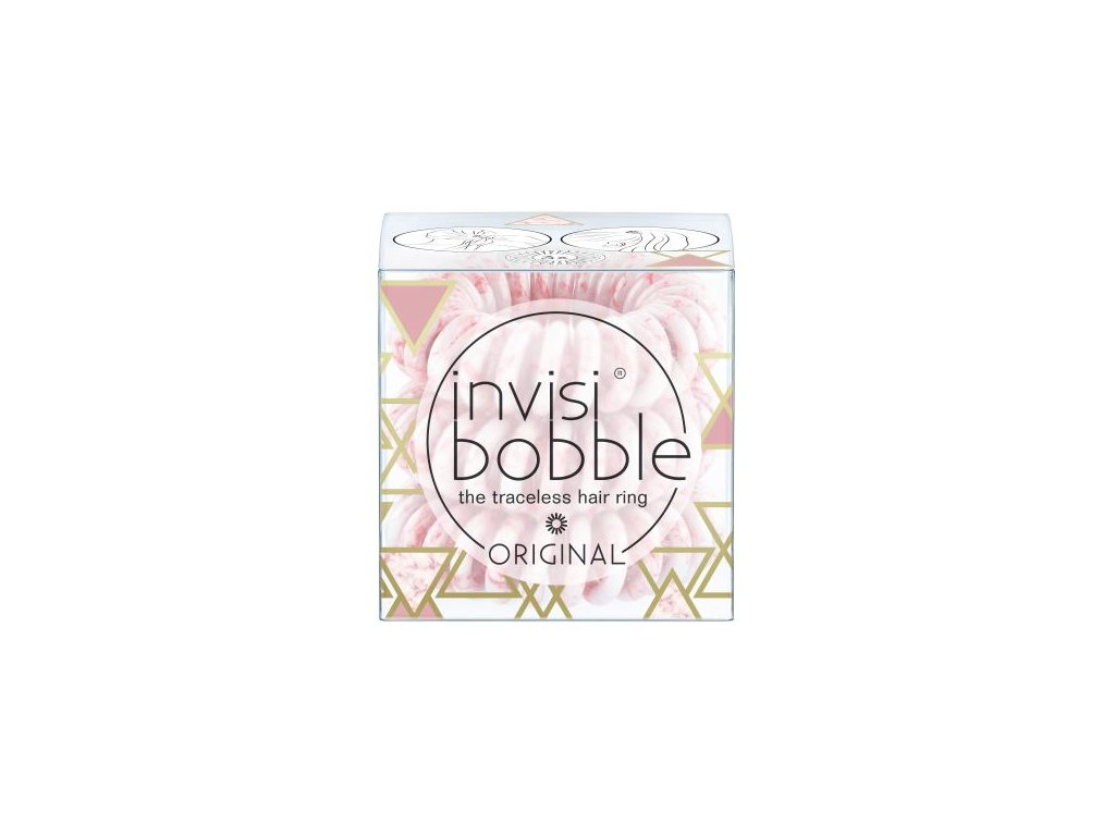 invisibobble marblelous original pinkerbell