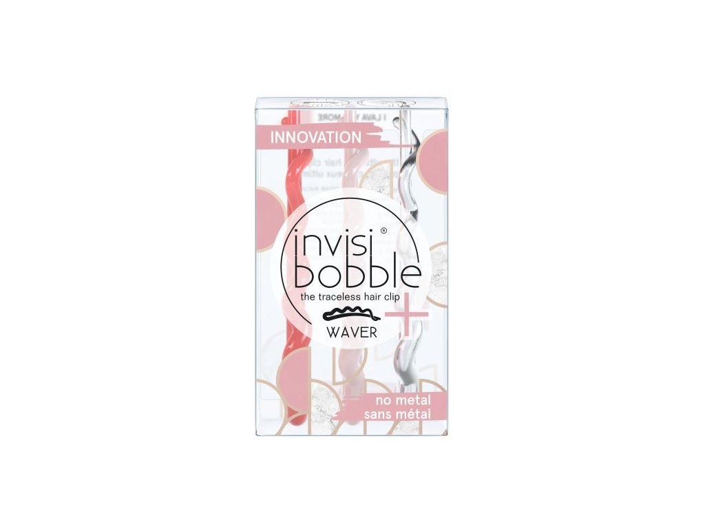 invisibobble marblelous waver plus i lava you more