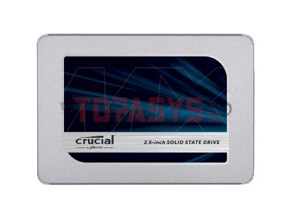 250GB SSD Crucial MX500 SATA 2,5'' 7mm