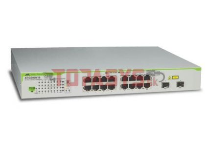 AT-GS950/16-50 Allied 14x 1G, 2x 1G COMBO Switch, Websmart
