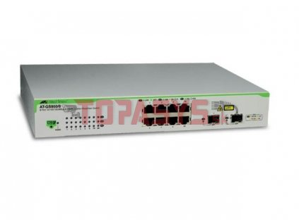 AT-GS950/8-50 Allied 6x 1G, 2x 1G COMBO Switch, Websmart
