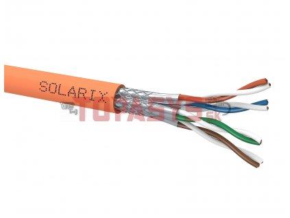 Instalační kabel Solarix CAT7 SSTP LSOHFR B2ca-s1,d1,a1 1000 MHz 500m/cívka SXKD-7-SSTP-LSOHFR-B2ca