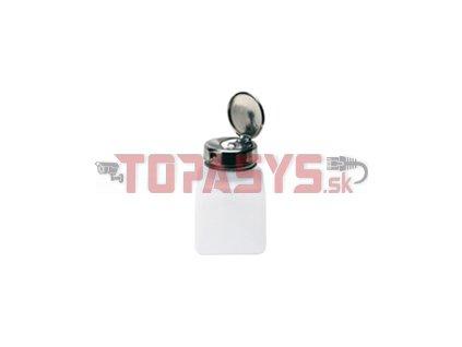 Nádobka na IPA plastová s kovovým dávkovačem