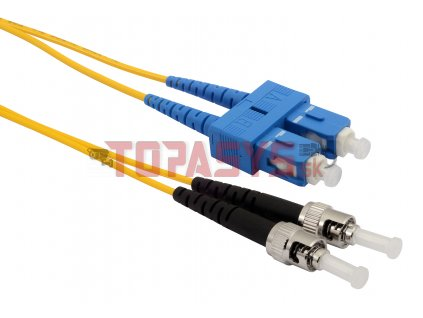 Patch kabel 9/125 SCupc/STupc SM OS 1m duplex SXPC-SC/ST-UPC-OS-1M-D