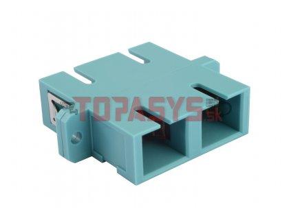 Adaptér SC MM OM3 duplex SXAD-SC-PC-OM3-D