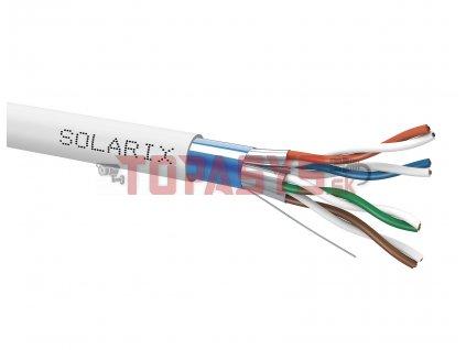 Instalační kabel Solarix CAT6A FFTP Dca-s2,d2,a1 500m SXKD-6A-FFTP-LSOH