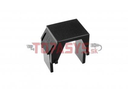 Keystone záslepka do modulárních patch panelů nebo zásuvek černá SXKJ-0-BK