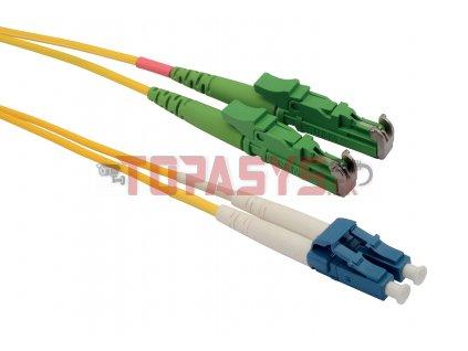 Patch kabel 9/125 E2000apc/LCupc SM OS 1m duplex SXPC-E2000/LC-APC/UPC-OS-1M-D