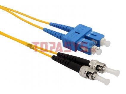 Patch kabel 9/125 SCupc/STupc SM OS 2m duplex SXPC-SC/ST-UPC-OS-2M-D