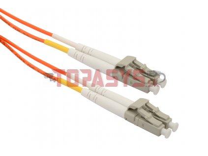 Patch kabel Solarix 62,5/125 LCupc/LCupc MM OM1 2m duplex SXPC-LC/LC-UPC-OM1-2M-D