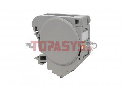Průmyslový modul na DIN lištu pro jeden keystone šedý SXKJ-DIN-GY