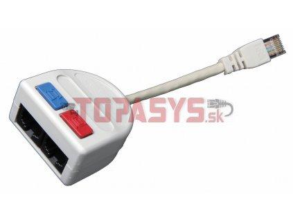 Rozdvojka počítač/telefon 2 x RJ45 UTP T-MOD 3-U4