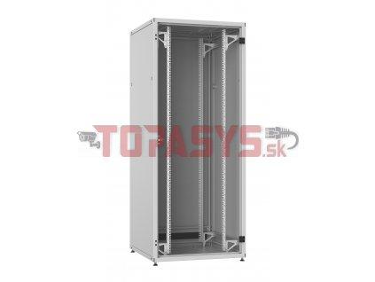 Rozvaděč LC-50 24U, 800x800 RAL 7035, skleněné dveře