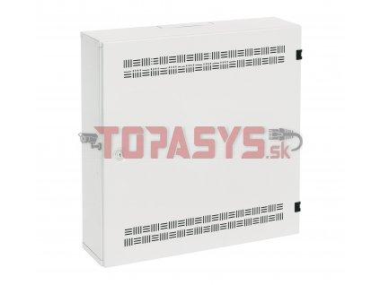 Rozvaděč SOHO LC-18 s lištami 2U, 4U a 11U, 550x550x150mm bílá RAL9003