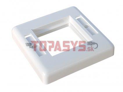 Rámeček vnitřní rozměr 45 x 45mm bílý