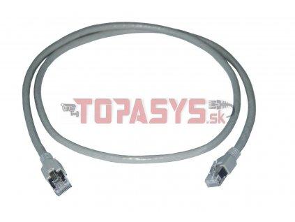 SMARTen Patch kabel STP litá ochrana 5.0m šedý