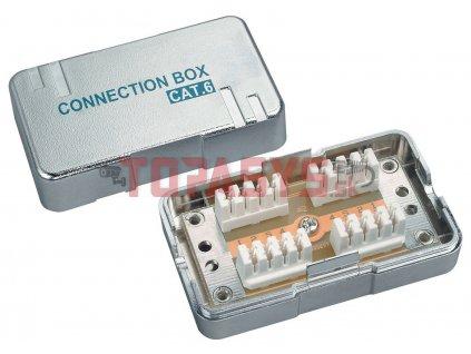 Spojovací box CAT6 STP 8p8c LSA+/Krone KRJS45-VEB6