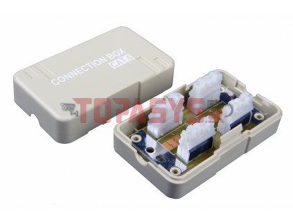 Spojovací box CAT6 UTP 8p8c LSA+/Krone KRJ45-VEB6