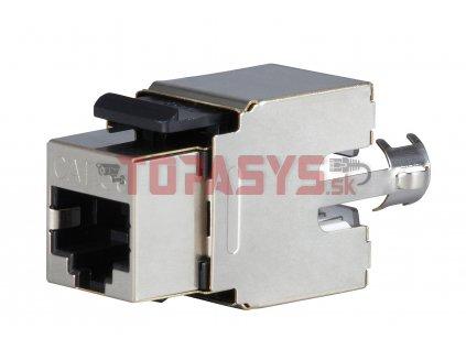 Zařezávací keystone Solarix CAT5E STP RJ45 SXKJ-5E-STP-BK