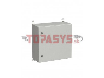 Rozvadeč nástěnný venkovní LC-20 12U 600x300 plechové dveře 2x1bodový zámek LC-20-12U-63-21-G