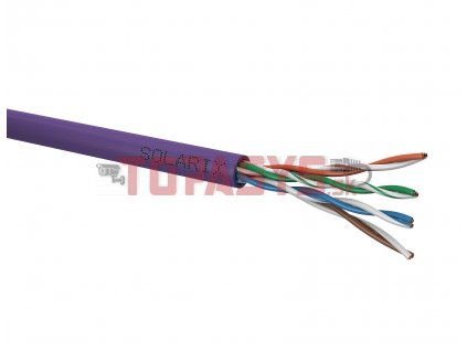 Instalační kabel Solarix CAT5E UTP LSOH Dca-s1,d2,a1 100m/box SXKD-5E-UTP-LSOH