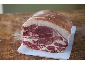 Bio pečínka s kostí z přeštíka - Pork Roast cena za balení 1kg