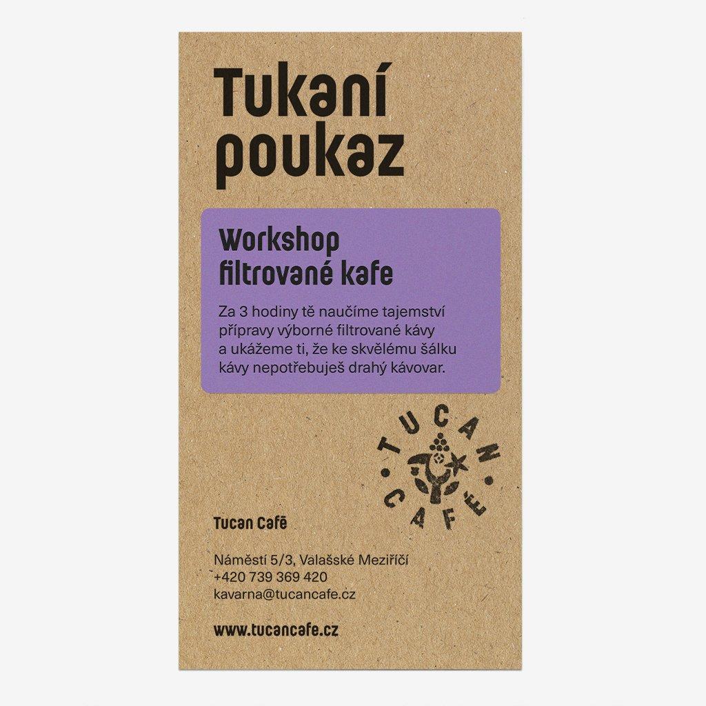tucan poukaz work filtr