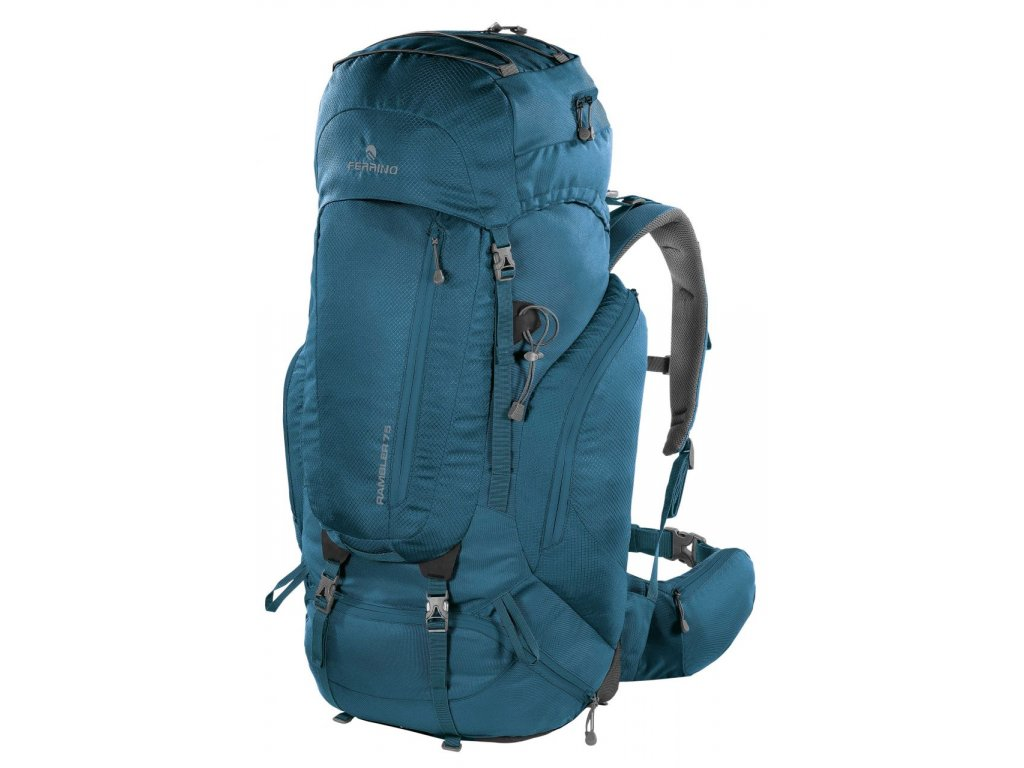 Turistický batoh ferrino rambler 75 modrá