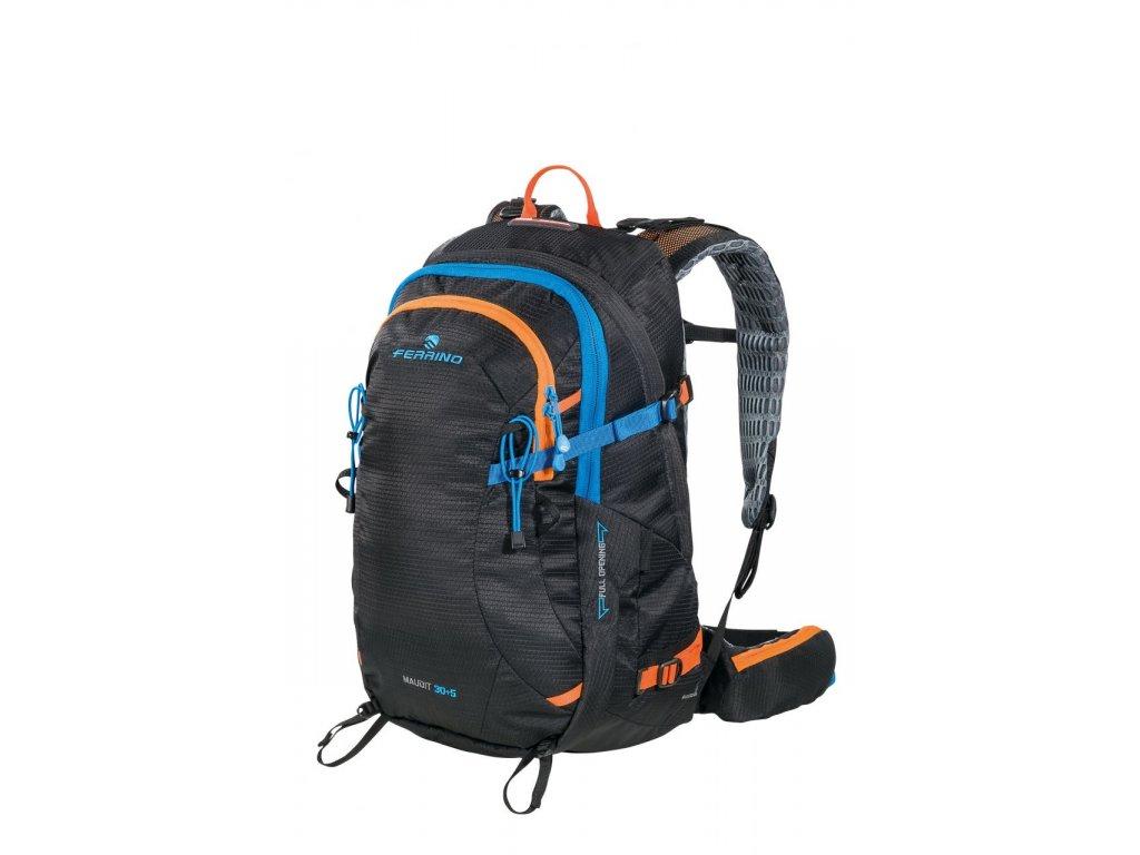 Horolezecký batoh ferrino maudit 30+5 new čierna