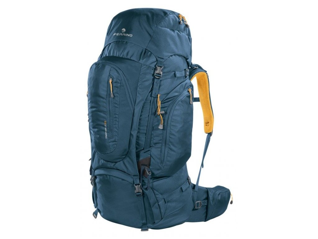 Turistický batoh ferrino transalp 80 2020 modrá