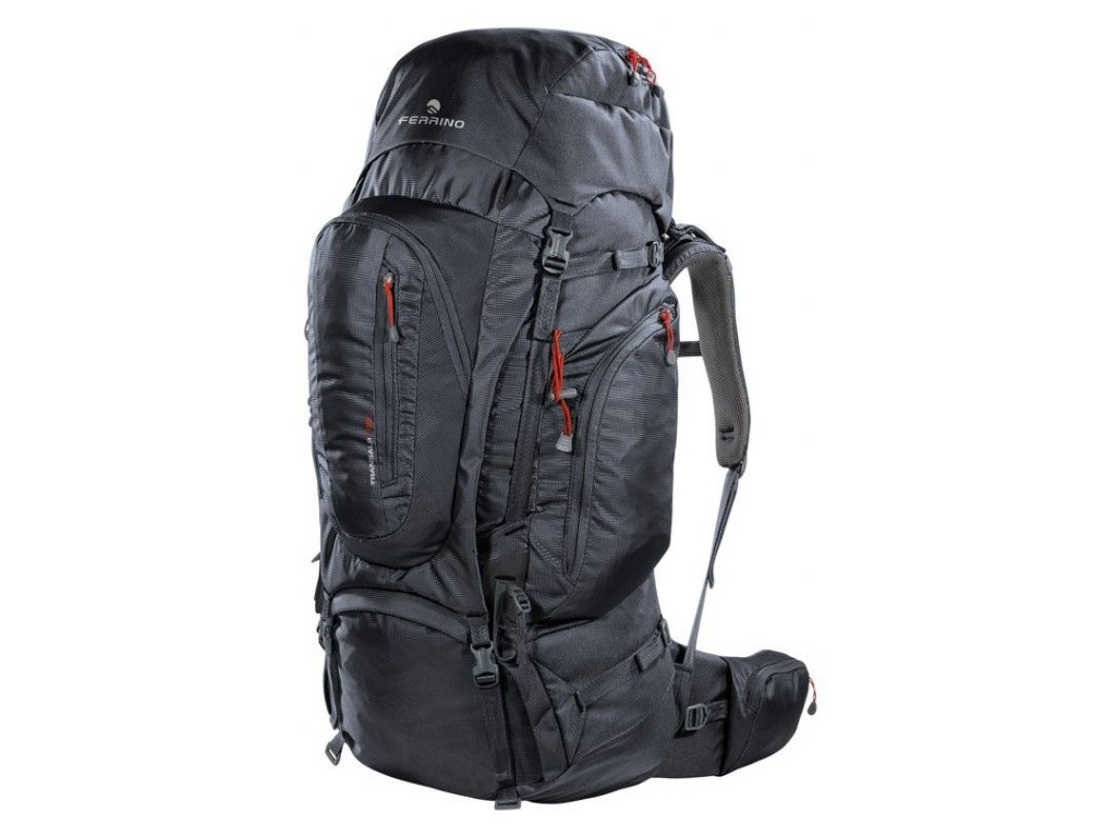 Turistický batoh ferrino transalp 100 2020 čierna