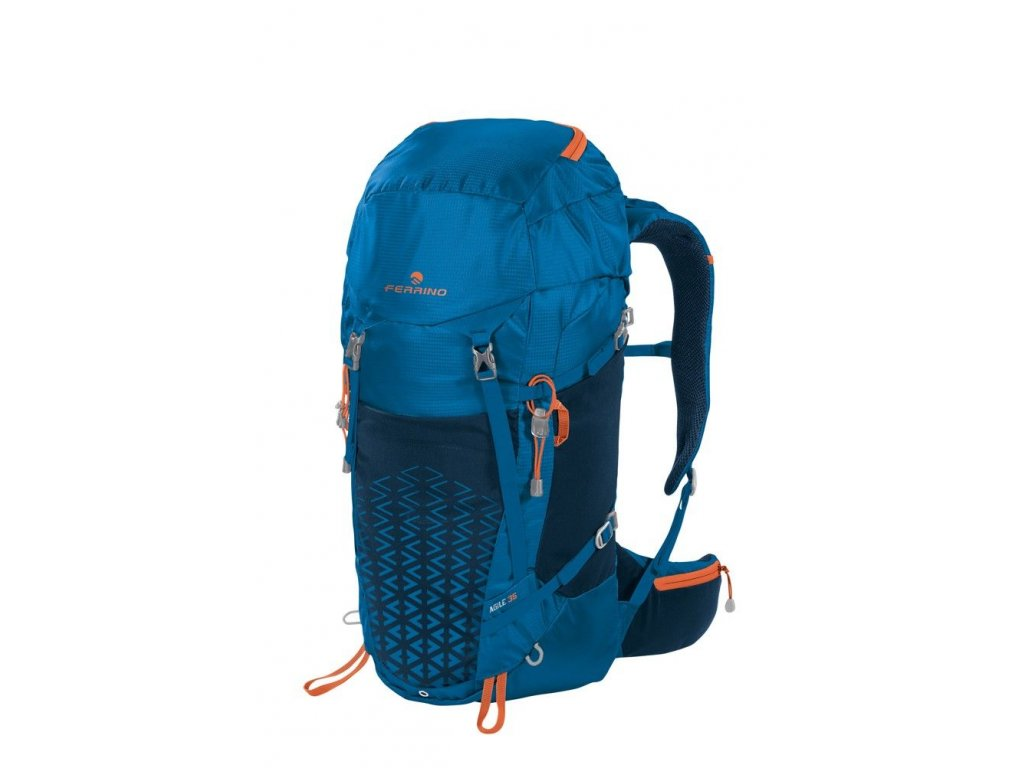 Univerzálny batoh ferrino agile 35 modrá