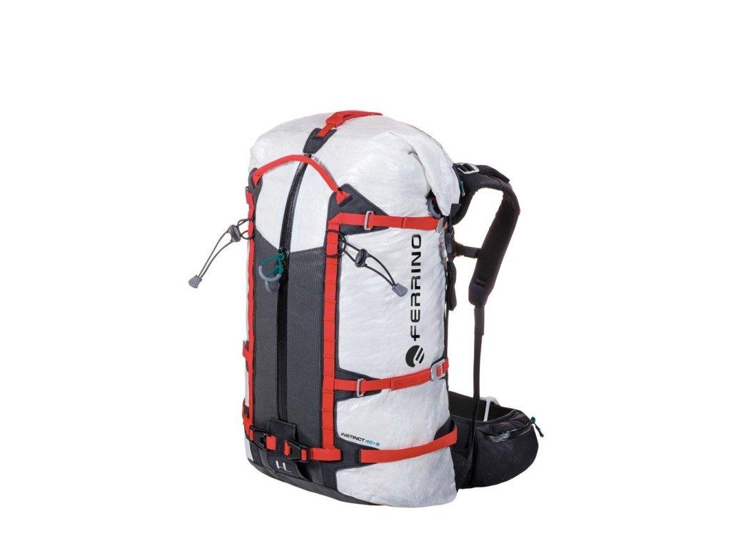 Ultraľahký batoh ferrino instinct 40+5 biela