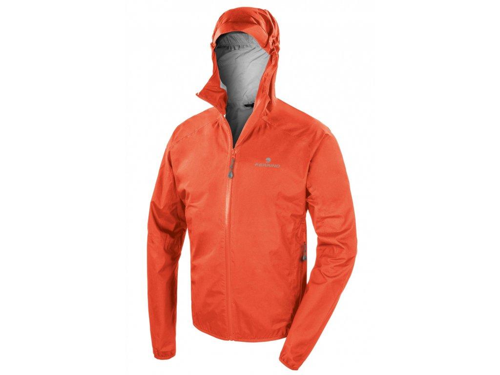 Pánska nepremokava bunda Kunene Jacket Man 2021 oranžová (light orange)
